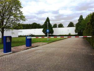 Slagboom voor brede toegangen en industriële toepasssingen