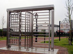 toegangscontrole tourniquet - draaitrommel voor entreebeveiliging