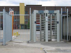Standard Line Dubbele hoge tourniquet-draaitrommel voor de toegangscontrole bij bedrijven