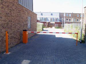 Slagboom woonwijk