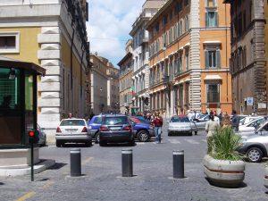 Pillars afsluiting stadscentrum