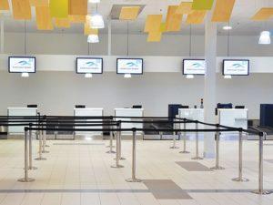 Tensabarrier luchthaven